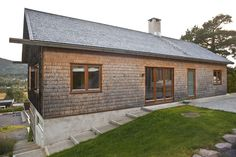 LY Arkitekter, Norway. House. Street elevation.