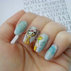 Sid nail art