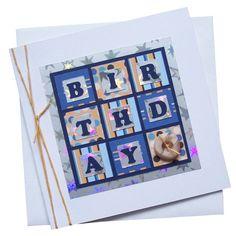 Handmade Male Birthday Card £1.80