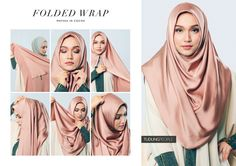 how to wear Square Hijab Tutorial, Simple Hijab Tutorial, Hijab Style Tutorial, Stylish Hijab, Casual Hijab Outfit, Beau Hijab, New Hijab Style, How To Wear Hijab, Niqab Fashion