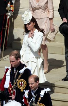 Catherine, Duchess of Cambridge attends the annual Order of the Garter Service at St George's Chapel, Windsor Castle on June 18, 2011 in Windsor, England.