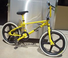 I love old skool--BMX Freestyle bikes...I always wanted one as a kid...