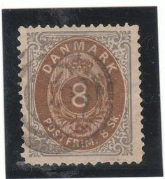Denmark  Catalogue (AFA) no. 19 Value Dkk. 600