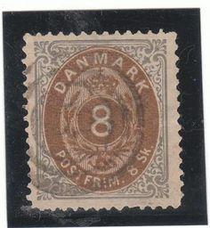 Denmark  Catalogue (AFA) no. 19 Value Dkk. 600