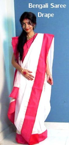 Bengali Saree Drape