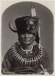 Studio portrait of Ponca chief Standing Bear, ca.1881