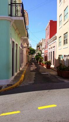 Side street In San Juan