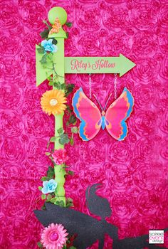 Birthday Party Decorations Diy, Fairy Birthday Party, Garden Birthday, 4th Birthday, Birthday Ideas, Butterfly Garden Party, Budget Baby Shower, Festive Crafts, Girl Parties