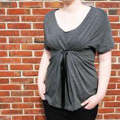 fácil sin coser camiseta reconstrucción bricolaje