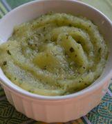 Apple Zucchini Baby Food Puree