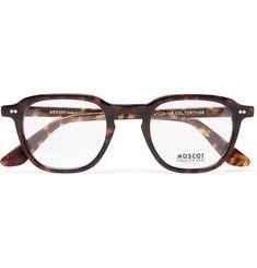 1bef1250924a Moscot - Billik Round-Frame Tortoiseshell Acetate Optical Glasses Designer  Glasses For Men