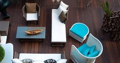 Bamboo decking by Dasso. Bamboo Decking, Front Fence, Artemis, Floor Chair, Spotlight, Flooring, Gallery, Home Decor, Decoration Home