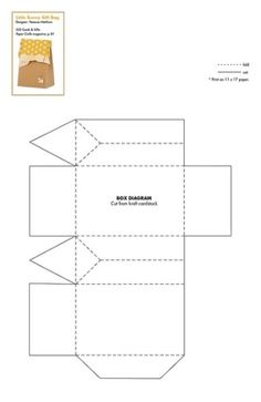 card & gift box patterns by Khris