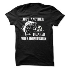 Drink beer and fishing T-Shirts, Hoodies. CHECK PRICE ==►…