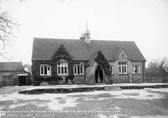 Picture the Past Main Street Description:Church School, Oxton, c 1925 Image Date:c 1925 Originally endowed by Margaret Sherbrooke in 1783, the building was rebuilt in 1831 and then replaced by the premises shown here, funded by public subscription, in 1870. The school closed in 1984 but the building survived and in 2013 was in use as the independent Salterford House Preparatory School. Image Archive, Derbyshire, Main Street, Historical Photos, Bears, The Past, Survival, Public, Canvas Prints