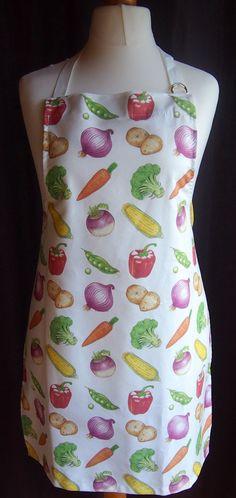 Artbyjak Vegetable Apron Design