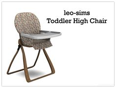 Sugar Coated Hell, Sims 4 Toddler High Chair • New Mesh by leo-sims •...
