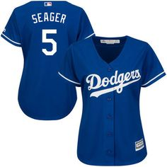 a931cc40a4a Women s Los Angeles Dodgers Corey Seager Majestic Royal Cool Base Player  Jersey