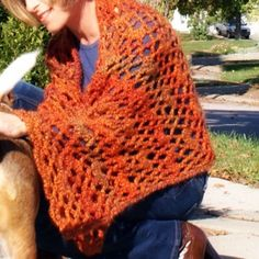 Quick Lacy Shawl Crochet Pattern