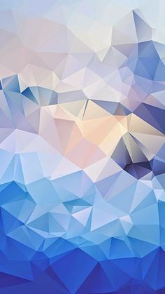 Here's a cool one....iPhone 6 wallpaper, background, phone, blue, mosaic, polygons, shapes, abstract, light, artistic, art,