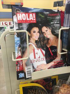 Revista ¡Hola! es una revista muy famosa in la vida de los latinos y mexicanos. La revista tiene los últimos chismes y tiene fotos de los personas famosos cuando están en los eventos alfombra roja o están caminando en los calles en la vida cada día.