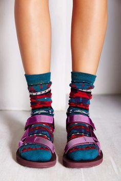 Teva X Woolrich Original Universal Sock + Sandal