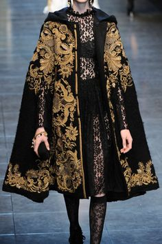 Dolce & Gabbana at Milan Fashion Week Fall 2012