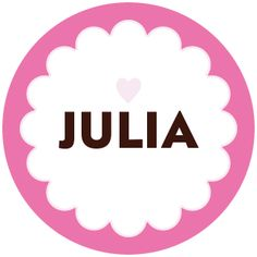 for my adorable princess julia, I love you sweetheart xo