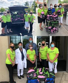 """Thank you, Bobby G. Cancer Fund, for donating 300 comfort bags for OHC cancer patients. The fund was established by Bobby's sister, Tammy, in honor of her brother's commitment to helping people with cancer. """"Before he passed, Bobby asked me to continue our work and not forget about people fighting #cancer,"""" said Tammy. For more information, email bobbygmemorial917@gmail.com. Bobby S, Fighting Cancer, Hematology, Her Brother, Helping People, Forget, Events, Posts, News"""