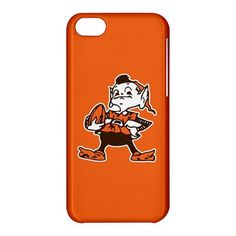 Cleveland Browns Elf Logo iPhone 5C Hardshell Case Cover - PDA Accessories