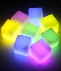 Glow Ice Cubes (set of 5 in mix color) $2.99 #SALE #birando