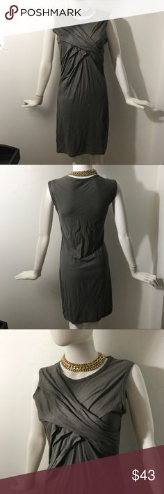 Clu Twist front T-shirt dress In excellent condition tee shirt dress by Clu. Clu Dresses Mini