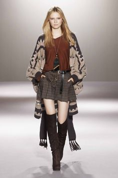 Nordic patterns charm winter fashion