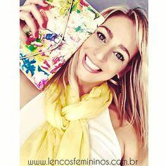 www.lencosfemininos.com.br echarpe pashmina lenços Femininos Renata Romero Lenços Echarpes pashminas turbantes bolsa clutch maxi colar
