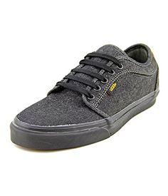 5749b14b79e Vans Mens Chukka Low Denim Women s Skateboarding Shoesing Shoes 65  BlackCork   To view further for
