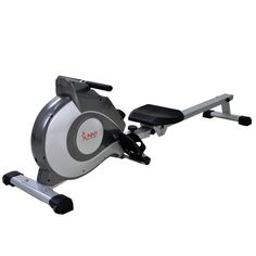 Magnetic Adjustable Resistance Rower Cardio Exercise Rowing Machine NEW. •Features an elevated magnetic tension system with 8 levels of adjustable resistance •Provides low impact aerobics and cardiovascular exercise •Fully padded seat and non-slip grip handlebars provide optimal comfort during exercise •Large LCD console displays Scan, Time, Count, Calories, and Total Count •Full body exercise targets all major groups; legs, arms, back, abdominal and gluts •Built in transportation wheels…