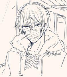Anime Boy Sketch, Anime Drawings Sketches, Manga Drawing, Manga Art, Cute Drawings, Anime Art, Drawing Stuff, Sad Anime, Cute Anime Boy