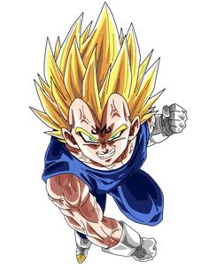 Majin Vegeta by BrusselTheSaiyan on DeviantArt