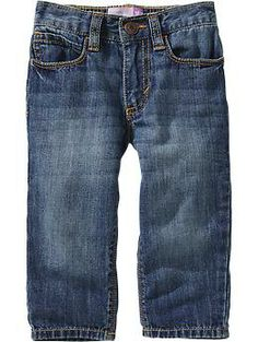 Medium-Wash Slouchy Jeans for Baby   Old Navy $17.00