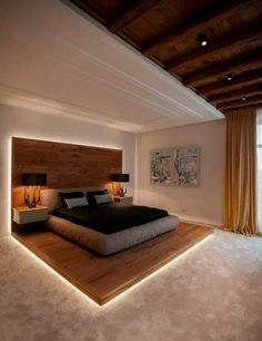 30+ Jaw Dropping Luxury Master Bedroom Designs #masterbedroom #bedroomdesign #bedroomideas ~ Beautiful House