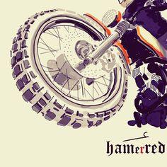 Motorcycle Art by Hamerred49 72