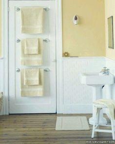 New towel Bar On Door