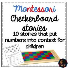 These 10 number stories put large numbers into context for students. A great Montessori math activity.