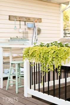 Deck Makeover TIDBIT
