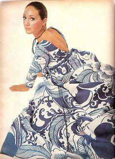 Vogue March 1, 1970 - Marisa Berenson