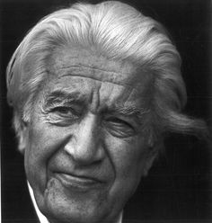 """Sergiu Celibidache (1912–1996). Romanian conductor, composer, and teacher. He frequently refused to release his performances on commercial recordings during his lifetime claiming that a listener could not obtain a """"transcendental experience"""" outside of the concert hall. Nonetheless, he earned international acclaim for celebrated interpretations of classical music repertoire."""
