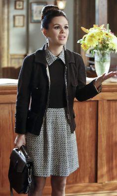 Rachel Bilson wearing Alexander Wang Devere Side-Zip Satchel Isabel Marant For H&M Earrings