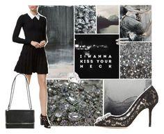 """I Wanna Kiss Your Neck"" by londonnewyorkparis ❤ liked on Polyvore featuring Sandro, Dolce&Gabbana, STELLA McCARTNEY, Suzanne Kalan, AllSaints, Prada and Mattia Cielo"