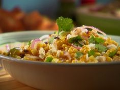 Summer Corn Salad - everyone LOVED it! Use romaine hearts instead of endive