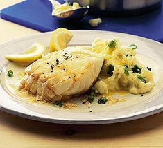 ... of potato and spring onion, adds real warmth to this simple cod dish
